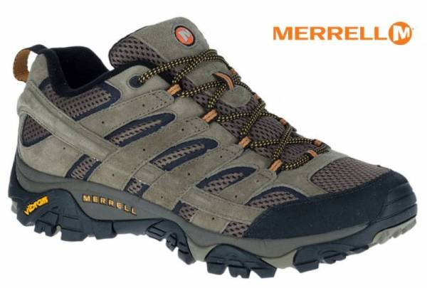 Buy Best Merrell Men's Moab 2 Ventilator, Walnut - Mesh/Leather Hiking Shoes (J06011)