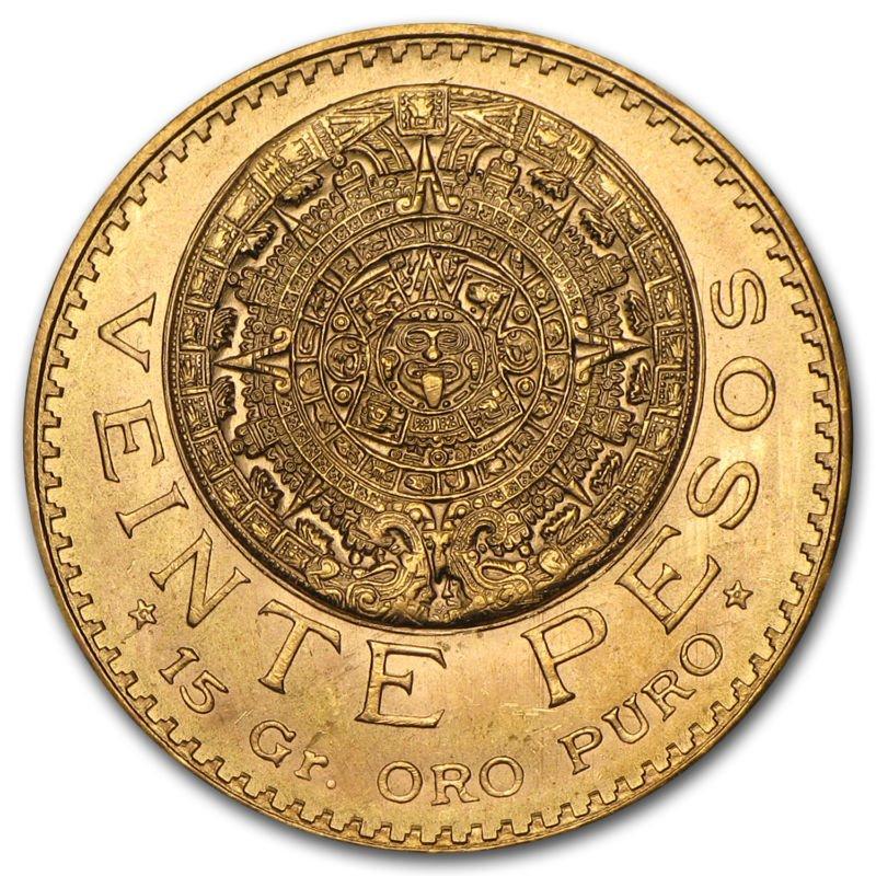 Buy Cheap Mexico Gold 20 Pesos Agw 4823 Almost