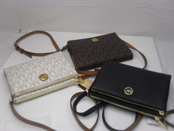 Buy Best Michael Kors Fulton LG EW Crossbody PVC MK Messenger Purse Bag Various Colors