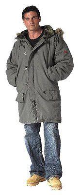 Buy Best Military N3-B N3B Snorkel Parka Fur Hood Jacket xs-3XL extreme cold weather NWT