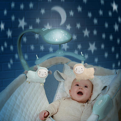 Buy Best Moonlight Rocking Baby Sleeper Bassinet Cradle Newborn Crib Bed Basket NEW