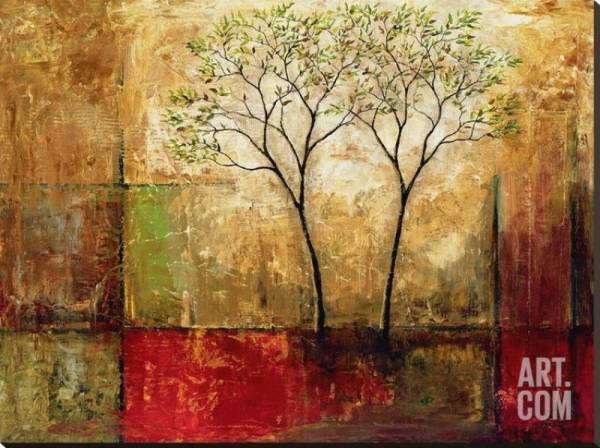 Buy Best Morning Luster I Landscape Stretched Canvas Poster Print by Mike Klung, 54x40...