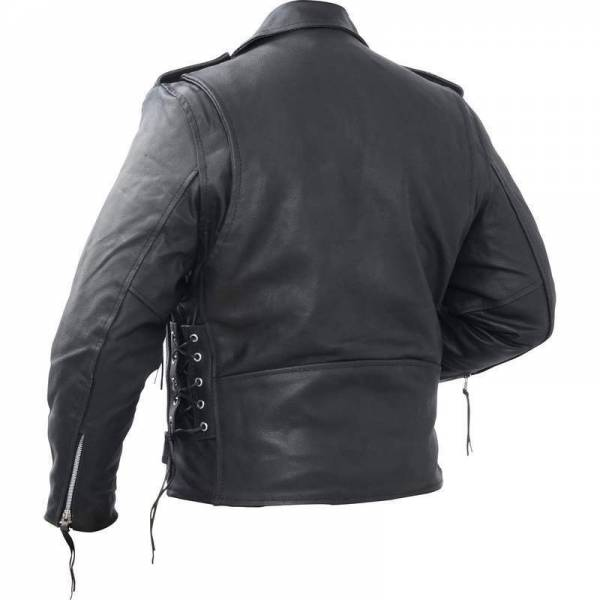 Motorcycle Jacket Men's Cowhide Leather Classic Rocky Mountain Hides MULTI SIZES