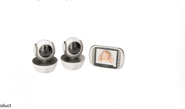 Buy Best Motorola MBP853CONNECT-2 Dual Mode Baby Monitor with 2 Cameras and 3.5-Inch LCD