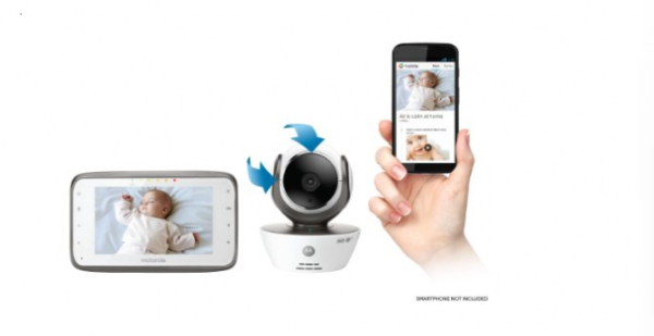 Buy Best Motorola MBP854CONNECT Dual Mode Baby Monitor with 4.3-Inch LCD Parent Monitor