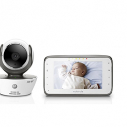 Motorola MBP854CONNECT Dual Mode Baby Monitor with 4.3-Inch LCD Parent Monitor