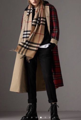 Buy Best NEW 100% Authentic The Classic Check 100%Cashmere Brand New
