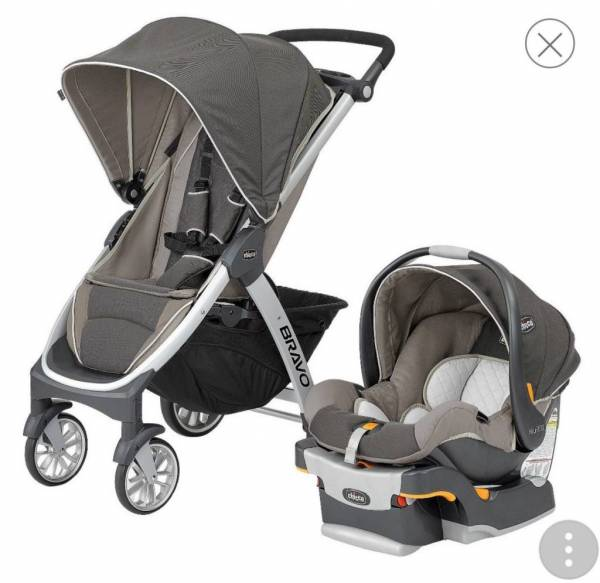 Buy Best NEW! Chicco Bravo Quick-Fold Trio Travel System for the baby