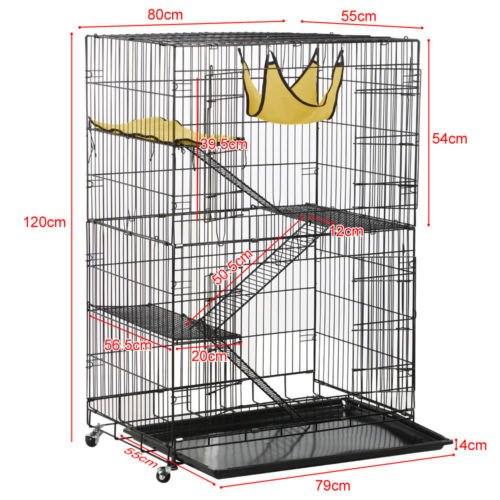 Buy Cheap New Large Folding Collapsible Pet Cat Wire Cage
