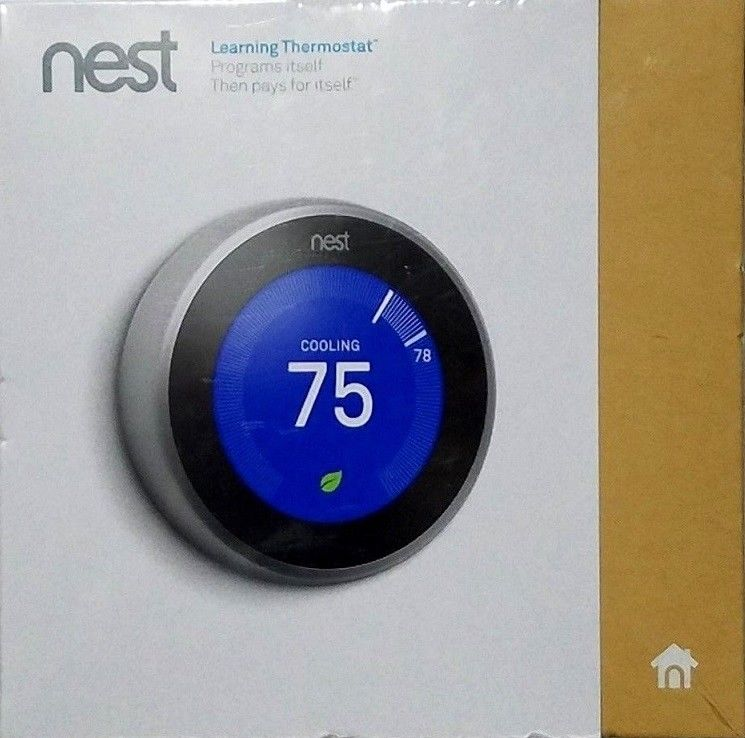 Buy Cheap New Nest Learning Thermostat 3rd Generation