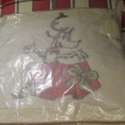NEW Pottery Barn Teen GRINCH MAX SEQUIN Pillow Cover - CHRISTMAS 18 X 18