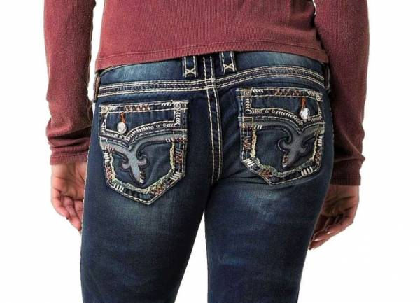 NEW - ROCK REVIVAL Womens Betty Boot Cut Stretch Jeans - 28,29,30,32,33,34,36