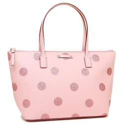 NWT Authentic Kate Spade WKRU4119 Hani Haven Lane Tote Glitter Dot handbag