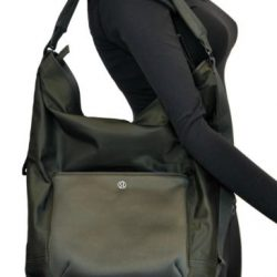 NWT Lululemon Womens All Set Hobo Dark Olive Fatigue Army Green Large Bag NEW