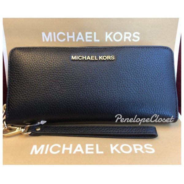 Buy Best NWT MICHAEL KORS LEATHER OR PVC JET SET TRAVEL CONTINENTAL WALLET IN VARIOUS