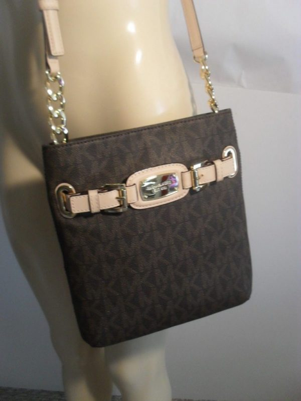 Buy Best NWT Michael Kors Hamilton MK Messenger Crossbody PVC Shoulder Bag Various Colors