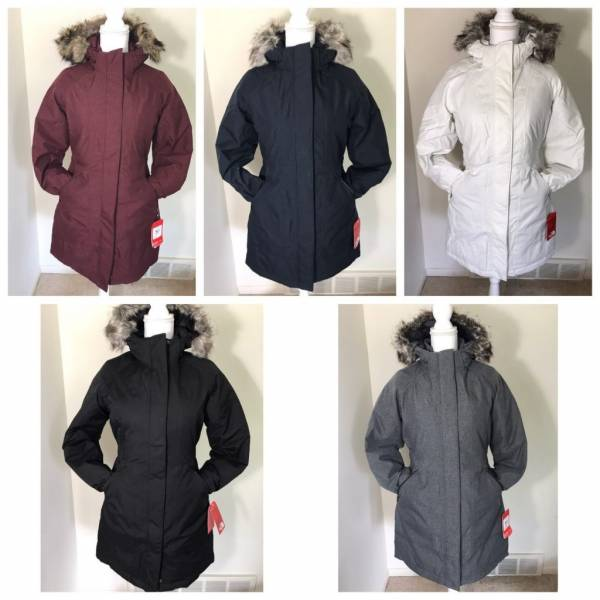 Buy Best NWT The North Face Women's Arctic Parka Down Coat Black Grey Blue + XS S M L XL