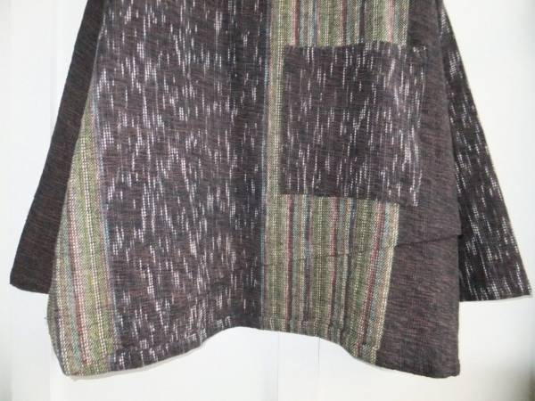 NWT Yasuko Kurisaka Fall/Winter 2017 Handwoven Asymmetric Top Blouse