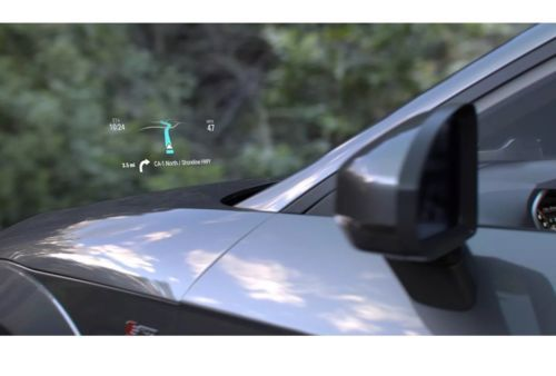 Navdy Augmented Reality GPS Navigation System With Heads Up Display Windshield