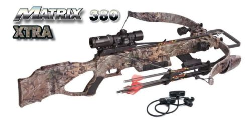 New 2017 Excalibur Matrix 380 Lite-Stuff Crossbow Package 380fps 3800