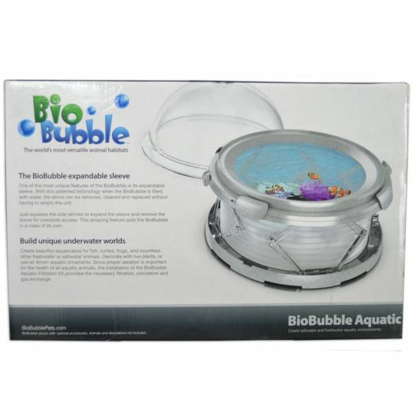 New BioBubble Aquatic Kit, Bio Bubble tank, air pum & filter, 3 colors