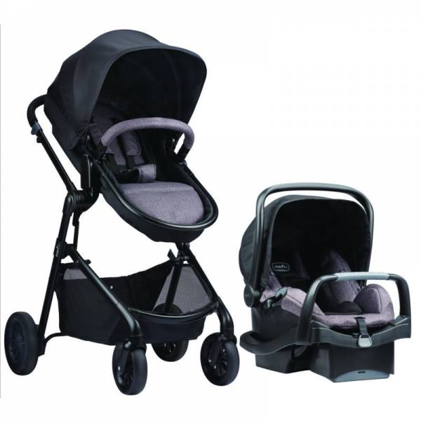 Buy Best New Evenflo Pivot Modular Travel System with SafeMax Infant Car Seat - Casual
