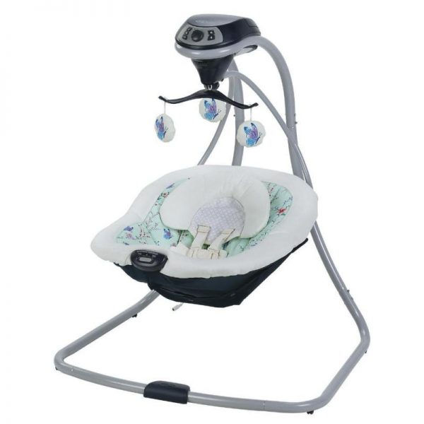 New Graco Simple Sway Swing With Compact Frame Design - Prairie Model:CE94CE98