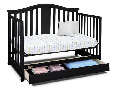 Buy Best New Graco Solano 4-in-1 Convertible Crib with Drawer - Espresso Model:829044D5