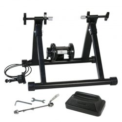 New Indoor Exercise Bike Bicycle Trainer Stand 8 Levels w/ Resistance Stationary