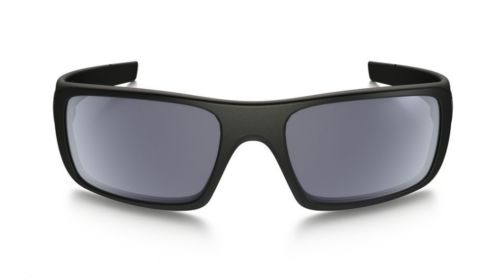 New Oakley OO9239-12 Crankshaft Sunglasses Matte Black Frame Grey Iridium Lens