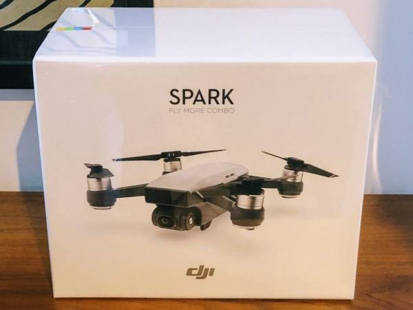 Buy Best New & Sealed DJI SPARK Fly More Combo 1080p Camera DRONE - ALPINE WHITE