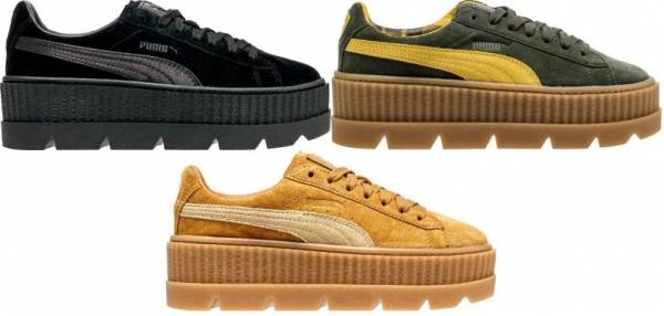 New Women's PUMA Cleated Creeper Suede Fenty Rihanna Sneaker - 366268 MSRP $160