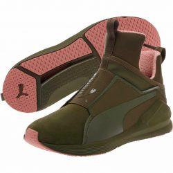 Buy Best New Women's PUMA Fierce Nubuck Naturals Training Sneaker - 190908-01 Olive Brown