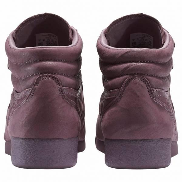 New Women's REEBOK Freestyle HI FBT Classics Sneaker - BS6280 Smoky Orchid