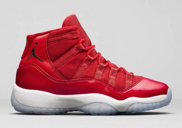 "Buy Best Nike Air Jordan XI Retro 11 WIN LIKE '96 ""Gym Red"" 378037-623 All Size 3C-14"