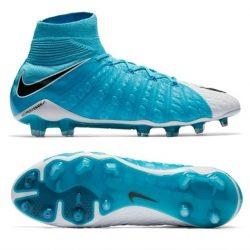 Buy Best Nike Hypervenom Phantom III DF FG Mens Soccer Cleats Blue 860643-104 Size 6-13