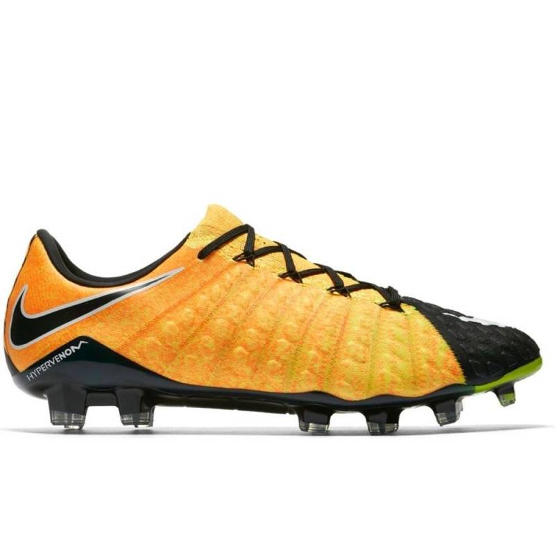 Nike Hypervenom Phantom III Low FG Soccer Cleat Laser Orange (852567-801)