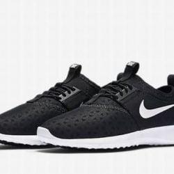 Nike Juvenate Women's Running Training Shoes Black White 724979 004