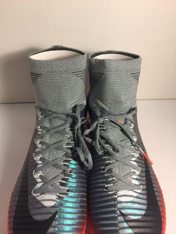 Buy Best Nike Mercurial Superfly V CR7 FG Soccer Cleats Mens Grey 852511-001 Size 6-13