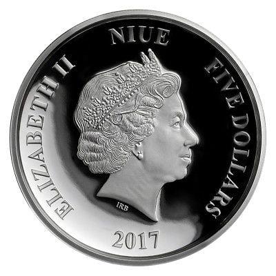 Buy Best Niue Disney Star Wars $5 Dollars, 2 oz. Silver Proof Coin, 2017,Mint,Darth Vader
