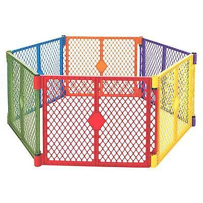 Buy Best North States™ Superyard Colorplay® 6 panel Freestanding Gate