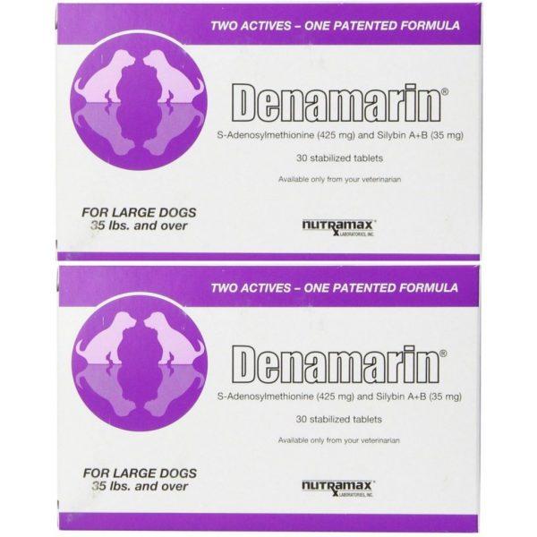 Buy Best Nutramax Denamarin Tablets 425 mg Large Dog - 30ct (2pack 60Tablets)