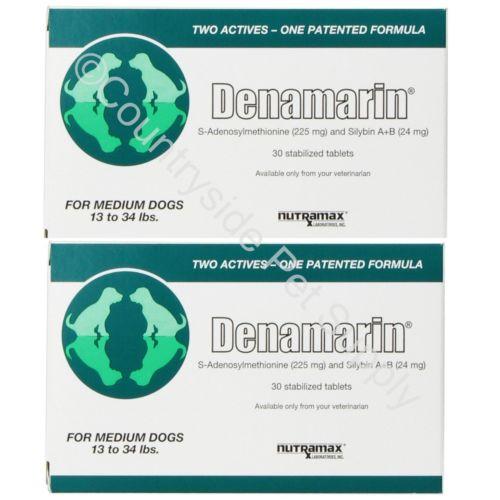 Buy Best Nutramax Denamarin for Medium Dogs Tablets 30ct (2pack 60Tablets)