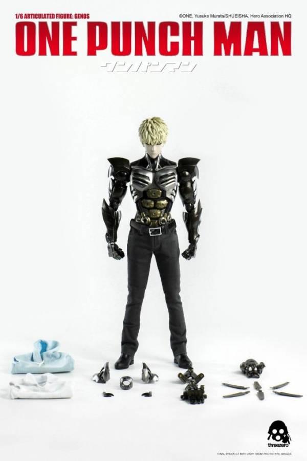 Buy Best ONE PUNCH MAN - GENOS 1/6 Scale Action Figure Anime Manga ThreeZero ThreeA 3A