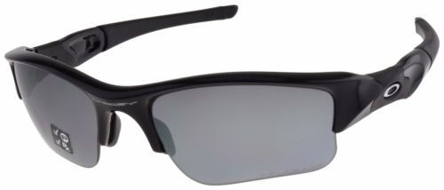 Buy Best Oakley Flak Jacket XLJ Sunglasses 12-903 Jet Black | Black Iridium Polarized