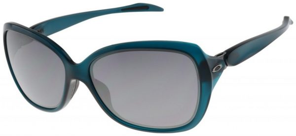 Oakley Women's Catch Me Sunglasses OO9299-07 Crystal Aurora | Black Iridium Lens