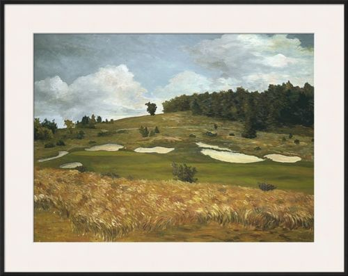 Buy Best Onset of Fall at Crystal Downs Framed Giclee Print by Michael G. Miller