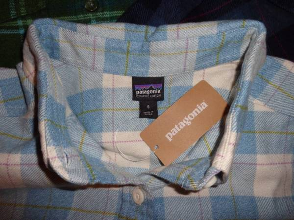 Buy Best PATAGONIA Women's Long-Sleeved Fjord Flannel Shirt - 53915 - size 6
