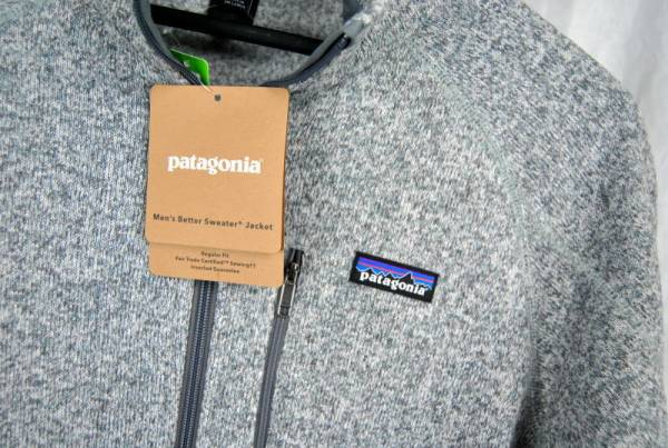 Patagonia BETTER SWEATER Fleece Full Zip Jacket STONE AUTHENTIC 25527 Mens New