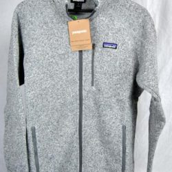 Buy Best Patagonia BETTER SWEATER Fleece Full Zip Jacket STONE AUTHENTIC 25527 Mens New